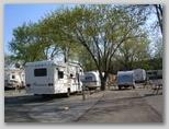 erste Nacht auf dem Campingplatz