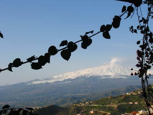 Sizilien erleben der Etna Sich von Taormina aus